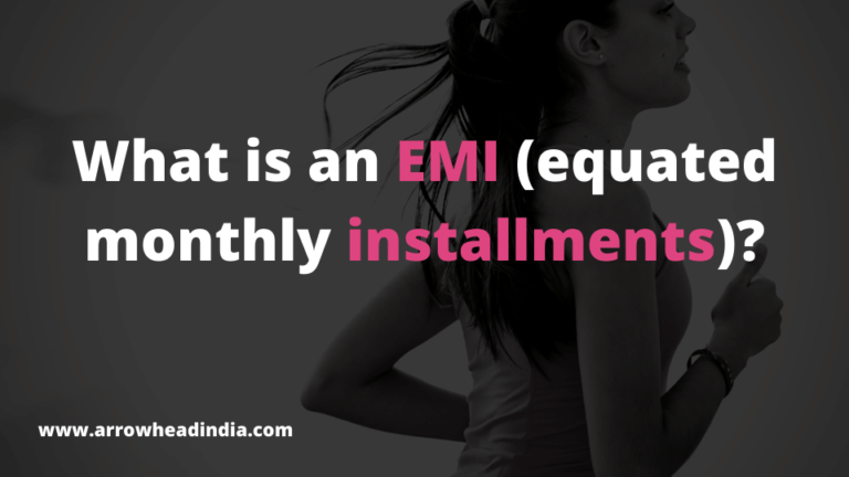 What is an EMI (equated monthly installments)?